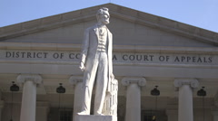 Court of Appeals - Abraham Lincoln Stock Footage