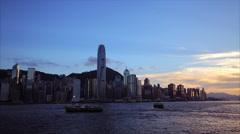 Hong Kong  Timelapse Stock Footage