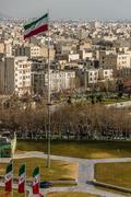 Tehran skyline of the city Kuvituskuvat
