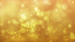 Glitter Lights Moving In The Air Stock Footage