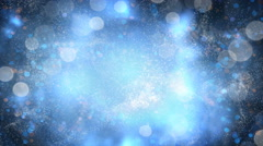 Fairy dust magic background seamless loop 4k (4096x2304) Stock Footage