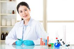 Discovering new medical frontiers for human health cure Stock Photos