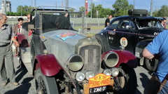 The 6th Peking to Paris Motor Challenge 2016. Stock Footage