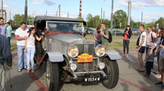 The 6th Peking to Paris Motor Challenge 2016. - stock footage