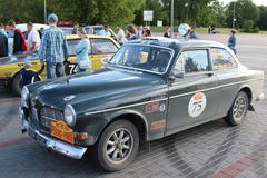 Brest, Belarus, 06 July 2016: The 6th Peking to Paris Motor Challenge 2016. Kuvituskuvat