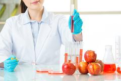this is the cure for human of genetic modification - stock photo
