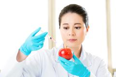 Plant biology research for genetic modification food gmo Kuvituskuvat