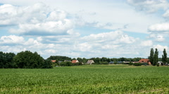 Farming and agriculture in rural Germany, Schorfheide, Brandenburg Stock Footage