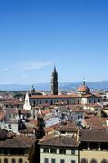 Roofs of Firenze Stock Photos