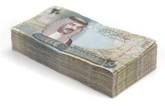 Bahraini Dinars - stock photo
