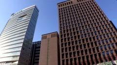 A Cityscape of Seoul, Korea Stock Footage