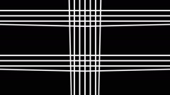 White Abstract Strings Stock Footage