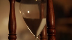hour glass variety shot sizes 2 - stock footage