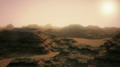 Mars base Stock Footage