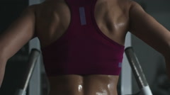 Ultimate Female Training Stock Footage