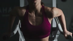 Body Workout Stock Footage