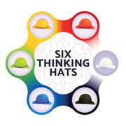 Six Thinking Hats, Business Leadership Concept Stock Illustration