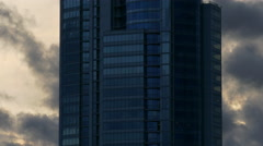 Skyscraper Building / Corporate Building / Clouds and Sky Stock Footage