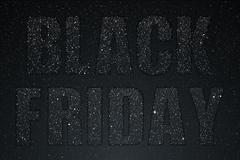 Black Friday. Starry dark sky. Eps 10. - stock illustration