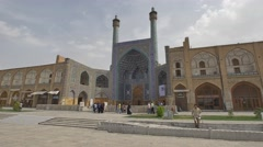 Isfahan Shah Mosque Stock Footage
