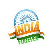 India independence day Stock Illustration