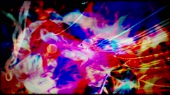 36mm filmstrip lsd liquid Grunge Stock Footage