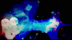 36mm filmstrip psycadellic liquid Grunge Stock Footage