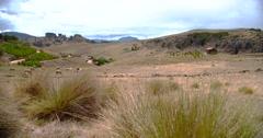 PERU: Cumbe Mayo Landscape near Cajamarca Stock Footage