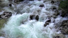 Blue mountines river Stock Footage