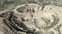 Herodion (Herodium) - Fortress (Version 01) Stock Footage