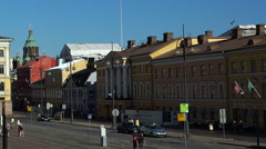 The State Council in Helsinki. Stock Footage