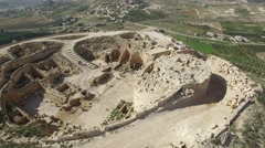 Herodion (Herodium) - Fortress (Version 03) Stock Footage
