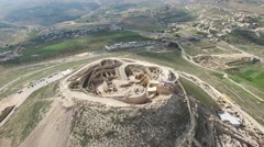 Herodion (Herodium) - Fortress (Version 04) Stock Footage