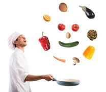 Food smile Stock Photos