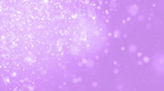 Elegant violet abstract with snowflakes. Stock Footage