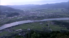 Landscape in Gwangyang-si, Jeollanam-do?Province, Korea Stock Footage