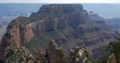 Grand Canyon North Rim, Cape Royal Stock Footage