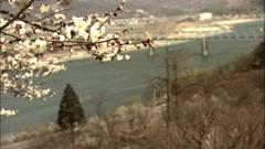 Landscape in Gwangyang-si, Jeollanam-do?Province, Korea Stock Footage