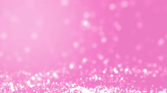 Elegant pink abstract with snowflakes. Stock Footage