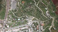 Al-Khalīl (Hebron) - Kiryat Arba - Agriculture fields Stock Footage