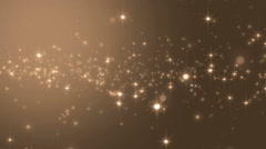 Brilliant golden for background. Stock Footage