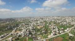 Al-Khalīl (Hebron) - City overview (Version 01) Stock Footage