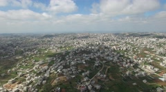 Al-Khalīl (Hebron) - City overview (Version 04) Stock Footage