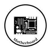 Motherboard icon Vector illustration - stock illustration