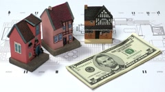 Economy and Business Concept Background Stock Footage