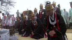 Traditional wedding of Korea Stock Footage