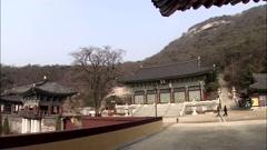 Seascape of Incheon-si, Korea Stock Footage