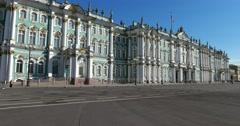 Winter Palace, Hermitage Museum, Saint Petersburg Stock Footage