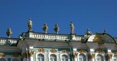 Sculpture, Winter Palace, Hermitage Museum, Saint Petersburg - stock footage