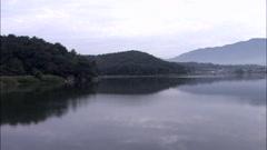 Landscape of Gyeongju-si, Gyeongbuk, Korea Stock Footage